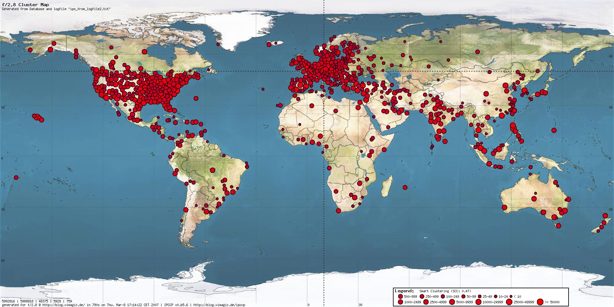ip address location map Gallery