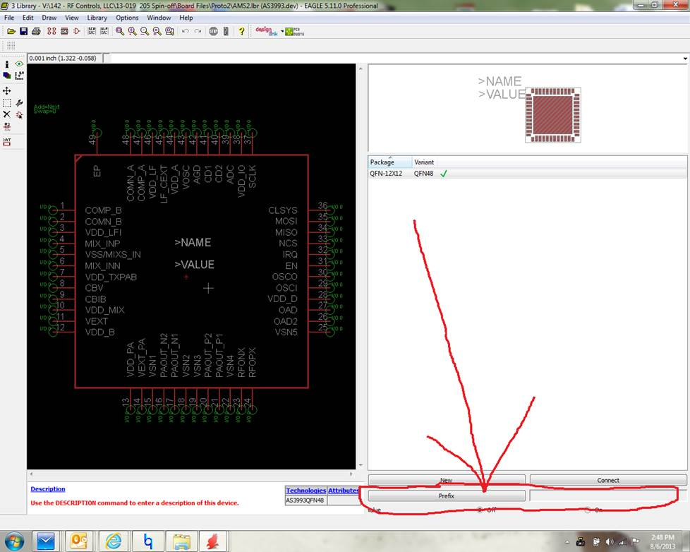 Making a Library Part For Eagle PCB Program ⋆ A MarketPlace of Ideas