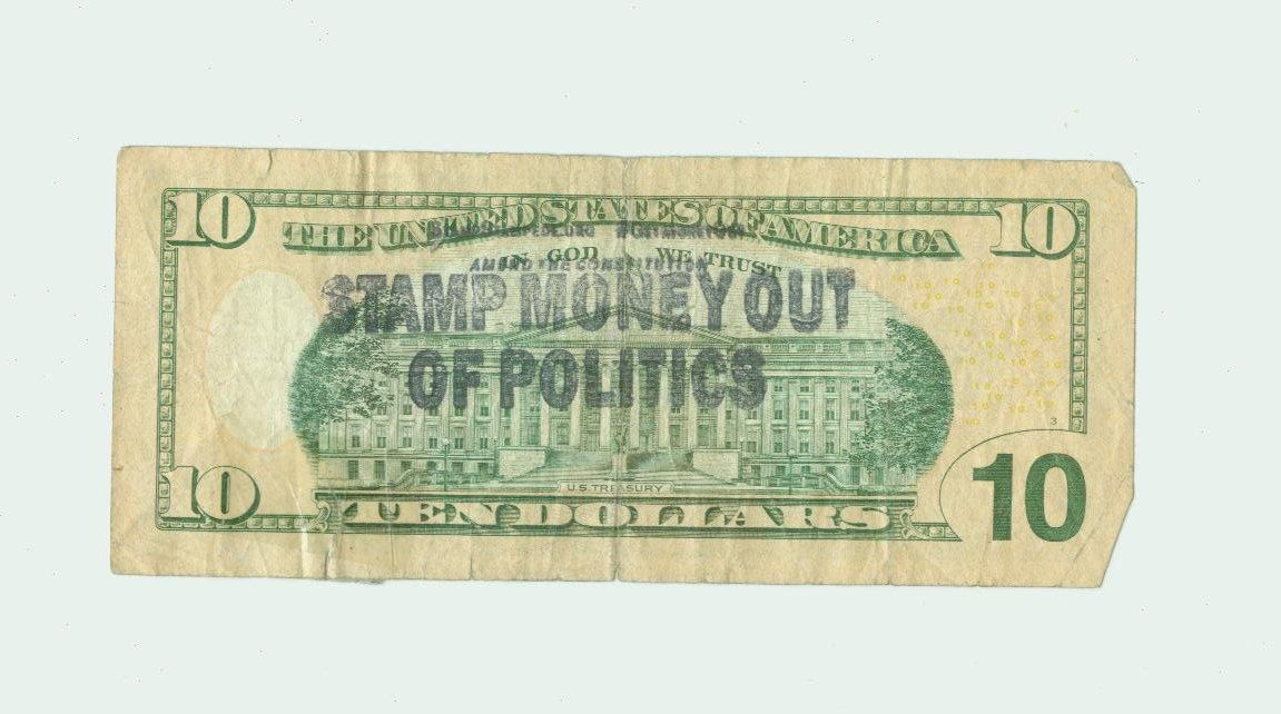 Stamp-Money-Out-Politics