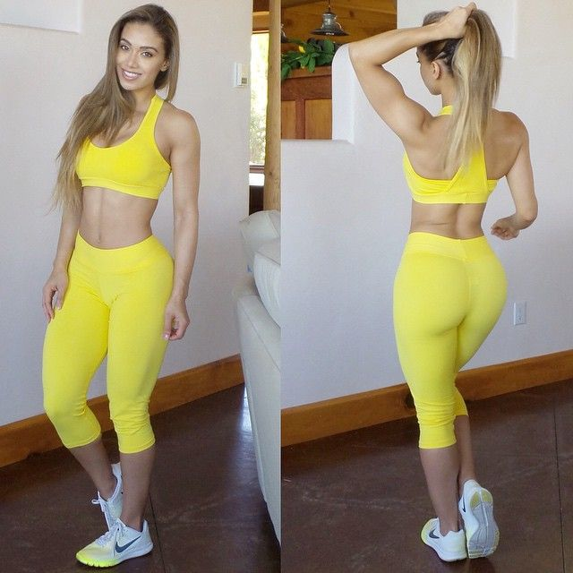 Banana Nut Muffin Yellow Yoga Pants