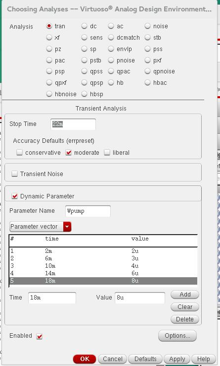 Parameter-Vector