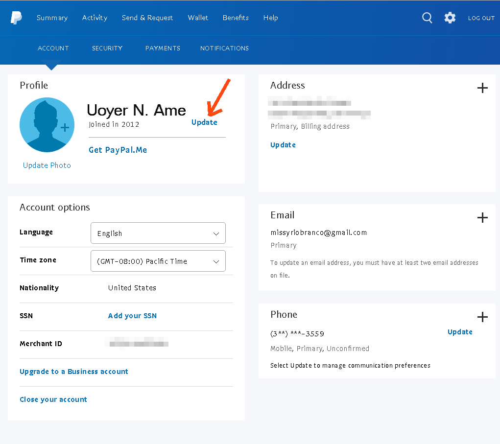How to Delete an old PayPal Address by Accessing the old