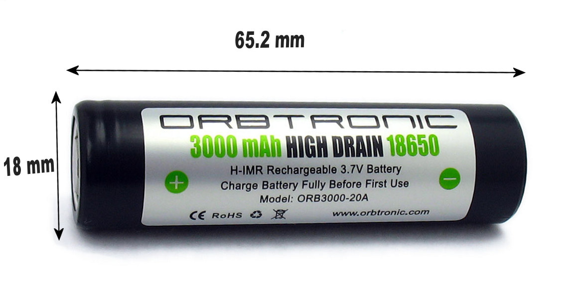 18650 standard laptop lithium ion battery cell