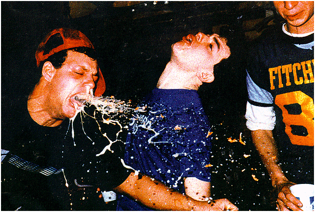 Brett Kavanaugh angry drunk!
